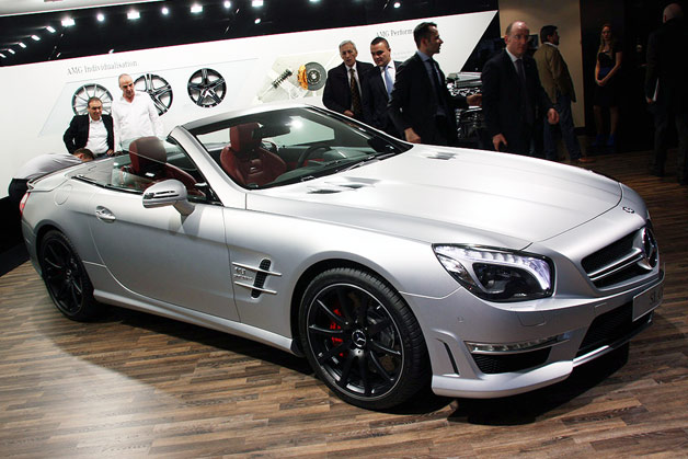 Mercedes-Benz SL63 AMG